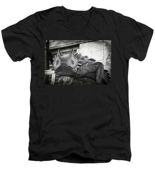 Tcu Horned Frog 2014 Men's V-Neck T-Shirt