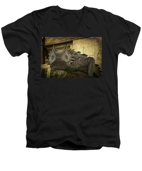 Tcu Horned Frog Men's V-Neck T-Shirt