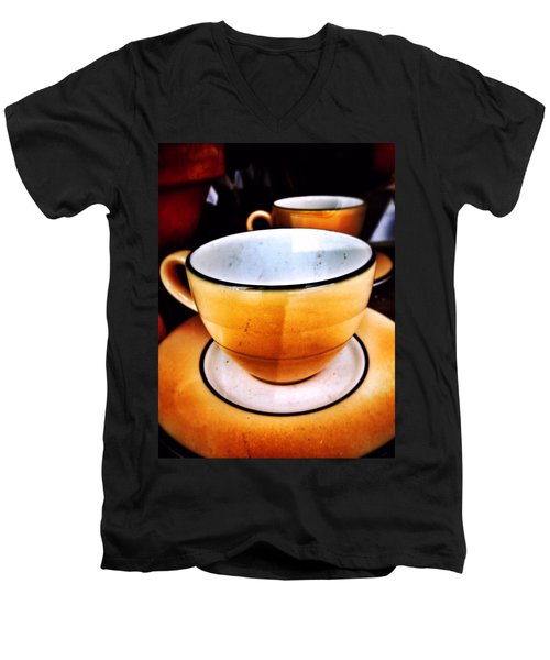 Tea For Two Men's V-Neck T-Shirt