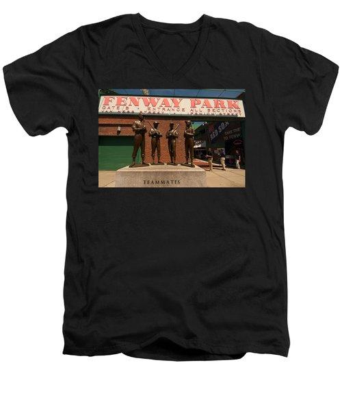 Teammates Men's V-Neck T-Shirt