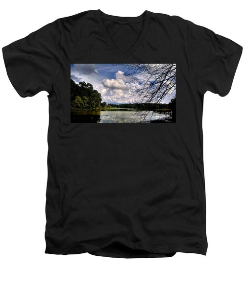 Men's V-Neck T-Shirt featuring the photograph Tennessee Dreams by Chris Tarpening