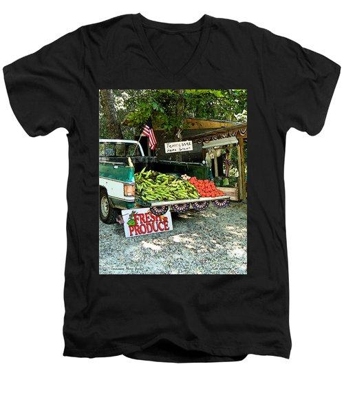 Tennessee Homegrown Men's V-Neck T-Shirt