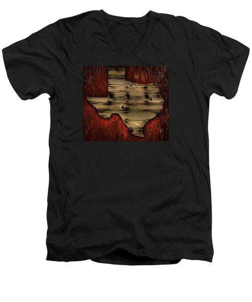 Texas Wood Men's V-Neck T-Shirt