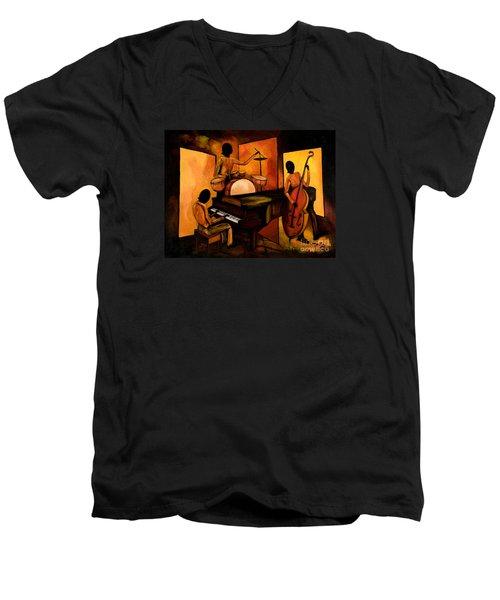 The 1st Jazz Trio Men's V-Neck T-Shirt