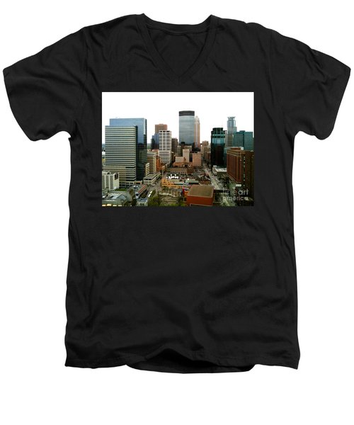 The 35th Floor Men's V-Neck T-Shirt