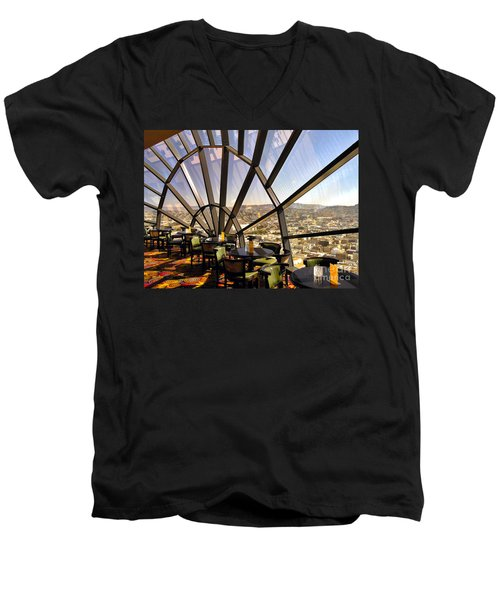 The 39th Floor - San Francisco Men's V-Neck T-Shirt