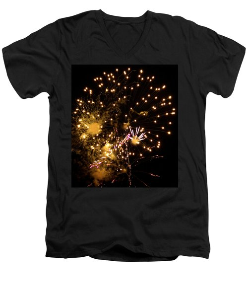 The 4th Of July 2013 Men's V-Neck T-Shirt
