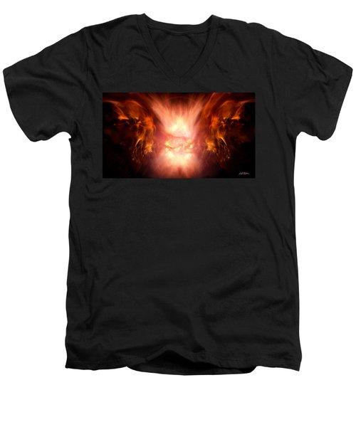 Godess Of Faa Men's V-Neck T-Shirt by Bill Stephens