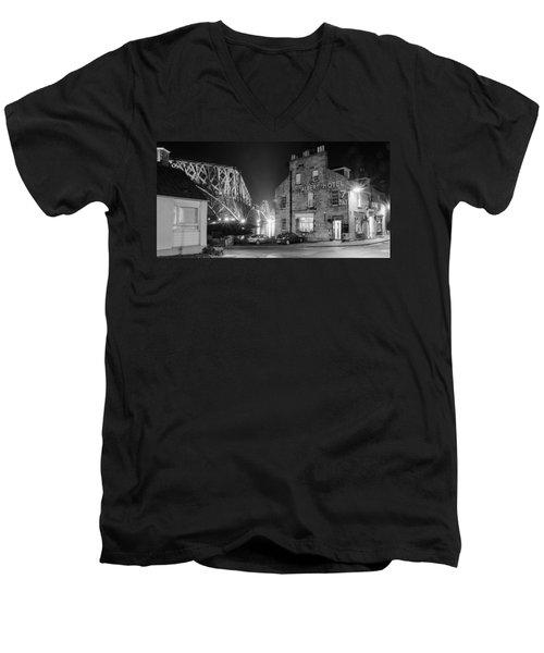 The Albert Hotel Men's V-Neck T-Shirt