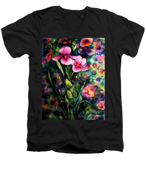 The Aroma Of Grace Men's V-Neck T-Shirt by Hazel Holland