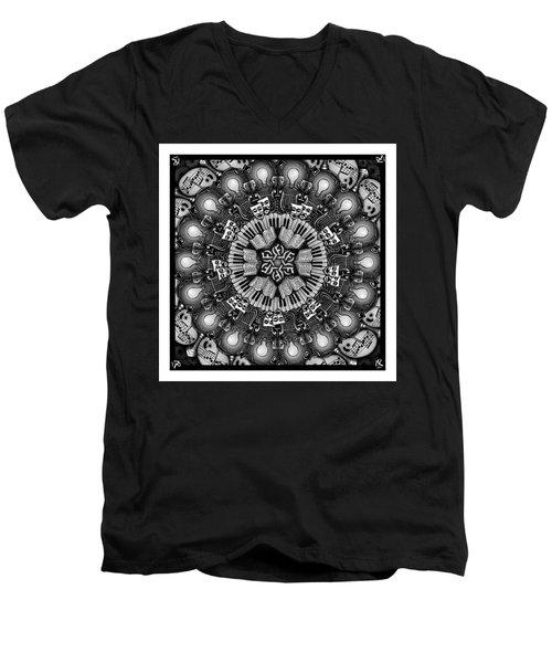 Mandalart Men's V-Neck T-Shirt