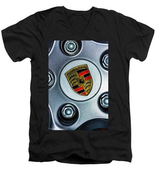 The Badge Men's V-Neck T-Shirt by Shannon Harrington