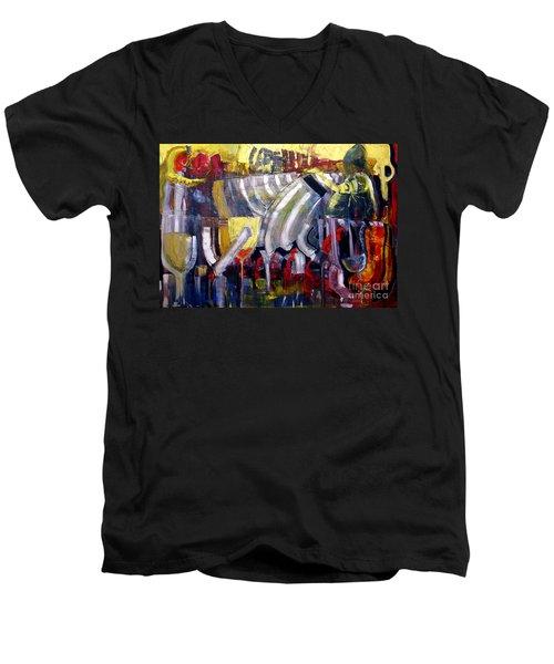 The Bar Scene Men's V-Neck T-Shirt