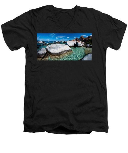 The Baths Men's V-Neck T-Shirt