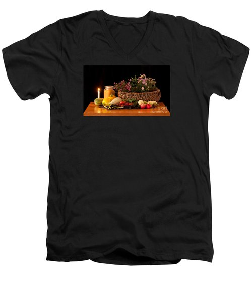The Beauty Of Fall Men's V-Neck T-Shirt