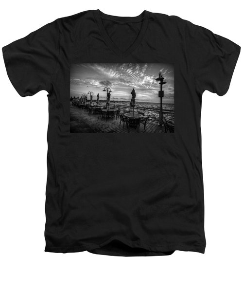 The Boardwalk Men's V-Neck T-Shirt
