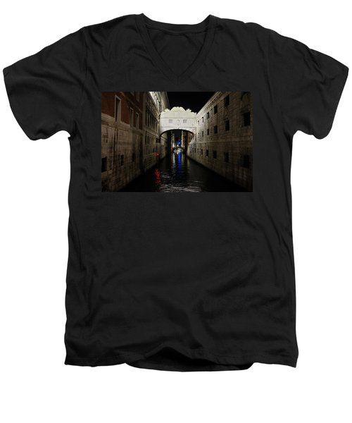 The Bridge Of Sighs Men's V-Neck T-Shirt