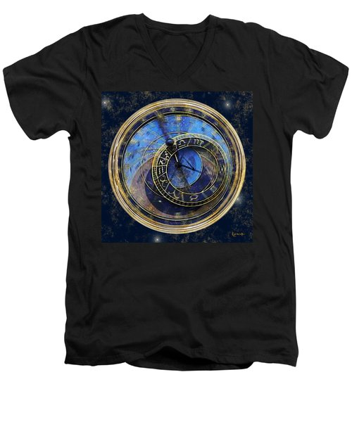 The Carousel Of Time Men's V-Neck T-Shirt