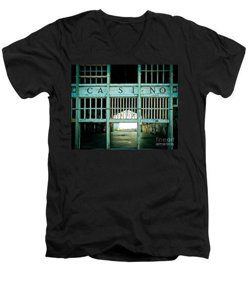 The Casino Men's V-Neck T-Shirt