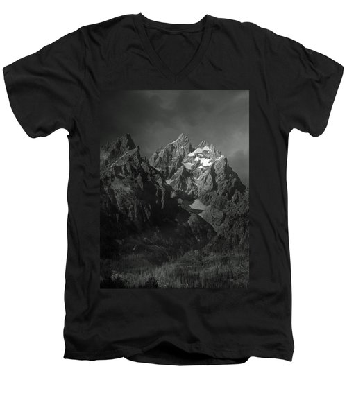 Men's V-Neck T-Shirt featuring the photograph The Cathedral Group by Raymond Salani III