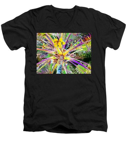 The Coconut Tree Men's V-Neck T-Shirt