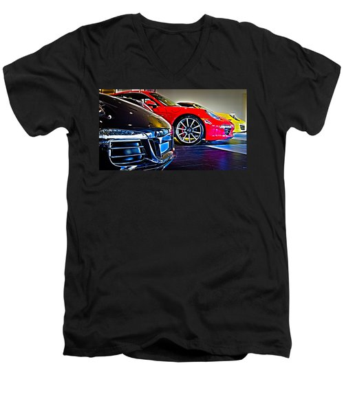 The Color Of Porsche Men's V-Neck T-Shirt