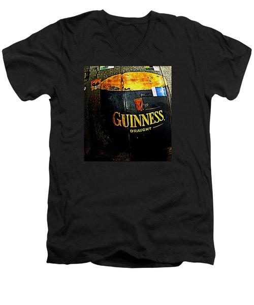 The Cooler Men's V-Neck T-Shirt by Chris Berry