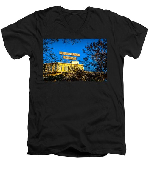 The Crockett Hotel Men's V-Neck T-Shirt