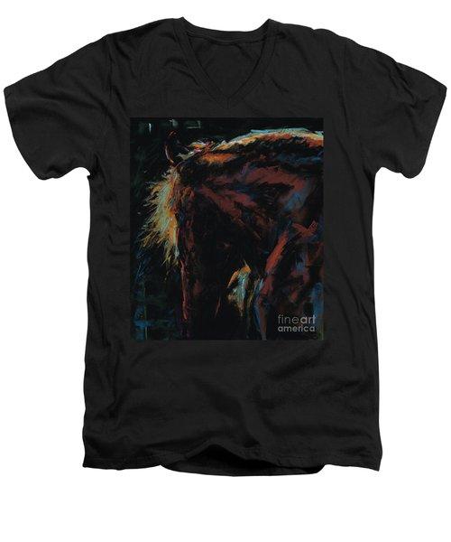 The Dark Horse Men's V-Neck T-Shirt