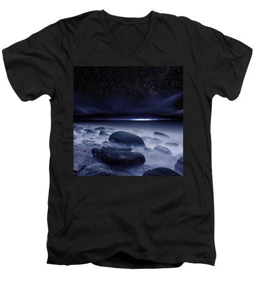 The Depths Of Forever Men's V-Neck T-Shirt