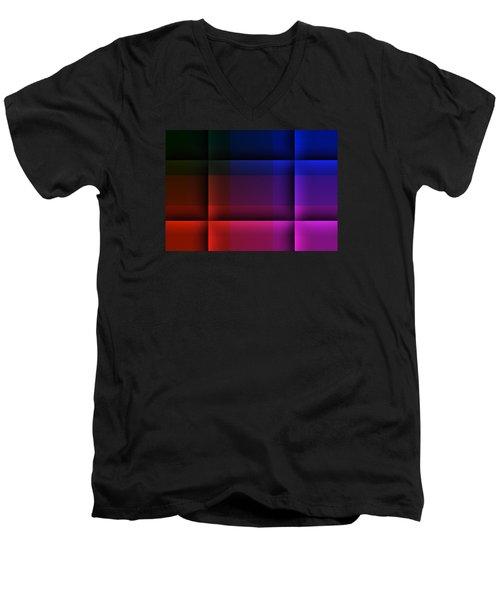 The Destiny Arena Men's V-Neck T-Shirt