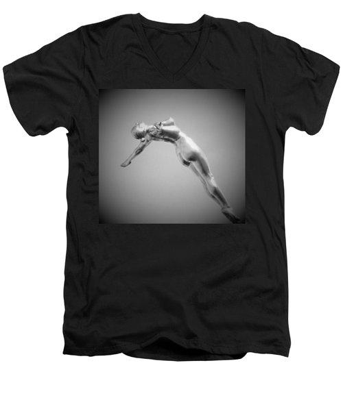 The Free Dive Men's V-Neck T-Shirt