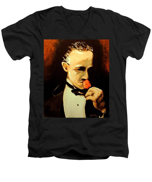 The Don And The Rose Men's V-Neck T-Shirt