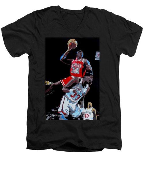 The Dunk Men's V-Neck T-Shirt