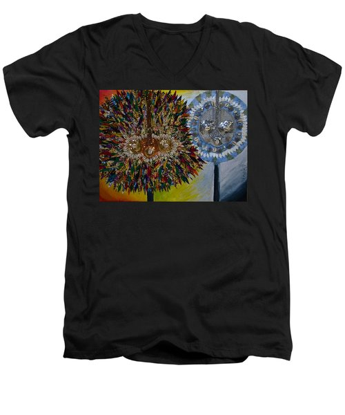 The Egungun Men's V-Neck T-Shirt