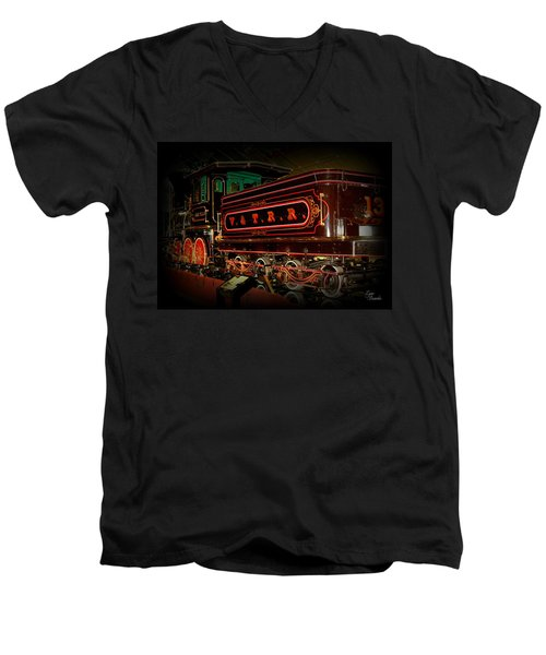 The Empire Men's V-Neck T-Shirt