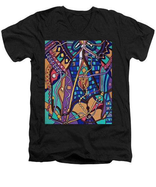 The Exam Men's V-Neck T-Shirt