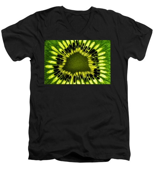 The Eye Men's V-Neck T-Shirt by Gert Lavsen