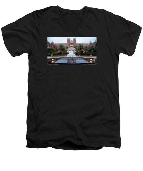 The Florida State University Men's V-Neck T-Shirt