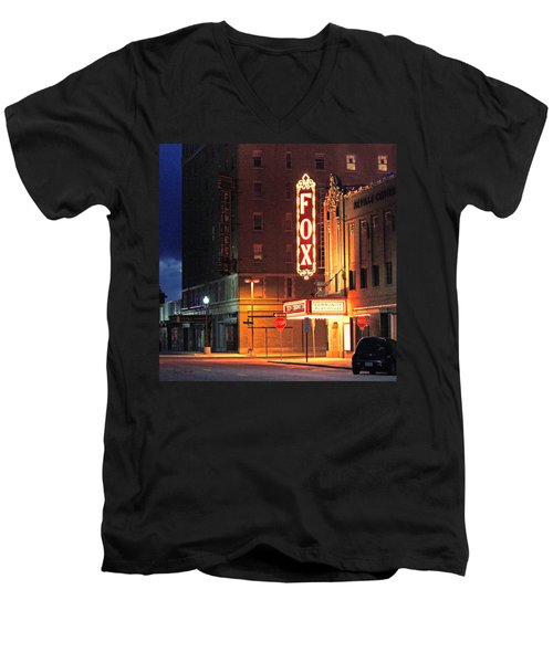 The Fox After The Show 2 Men's V-Neck T-Shirt