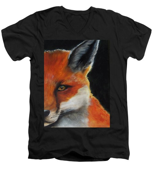 The Fox Men's V-Neck T-Shirt
