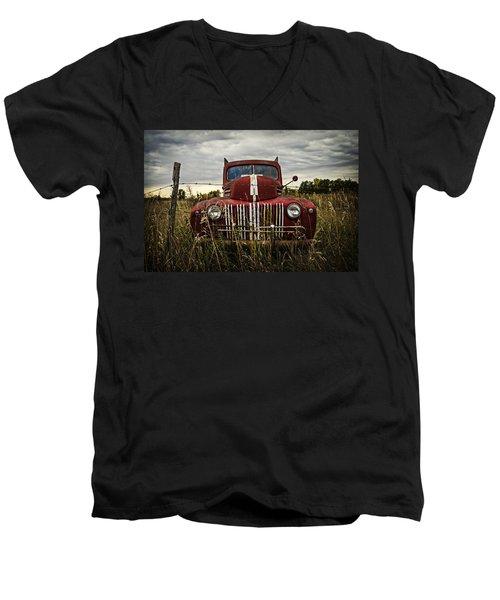 The Good Old Days Men's V-Neck T-Shirt