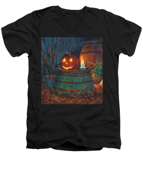 The Great Pumpkin Men's V-Neck T-Shirt