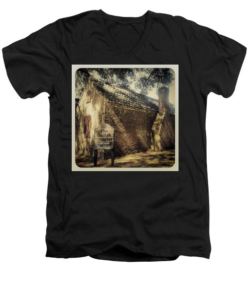 The Gullah Theater At Boone Hall Men's V-Neck T-Shirt