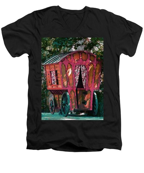 The Gypsy Caravan  Men's V-Neck T-Shirt
