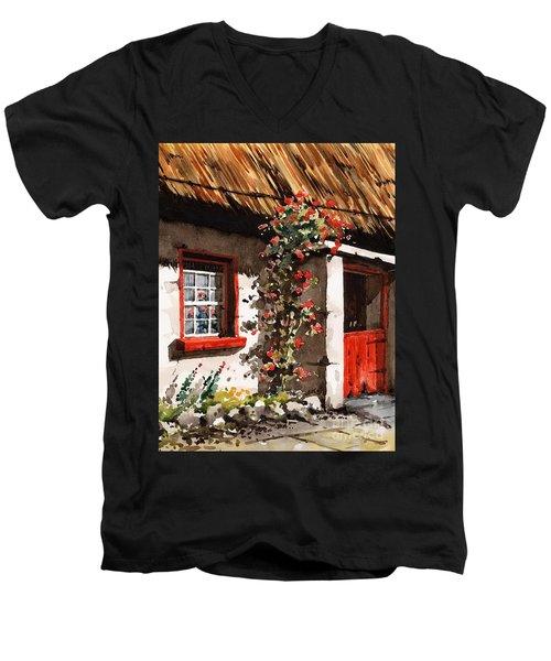The Half Door Men's V-Neck T-Shirt