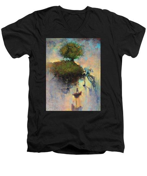 The Hiding Place Men's V-Neck T-Shirt