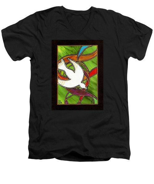 The Holy Spirit Men's V-Neck T-Shirt