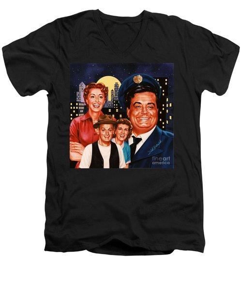 The Honeymooners Men's V-Neck T-Shirt