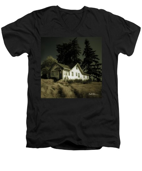The House Men's V-Neck T-Shirt by Charlie Duncan
